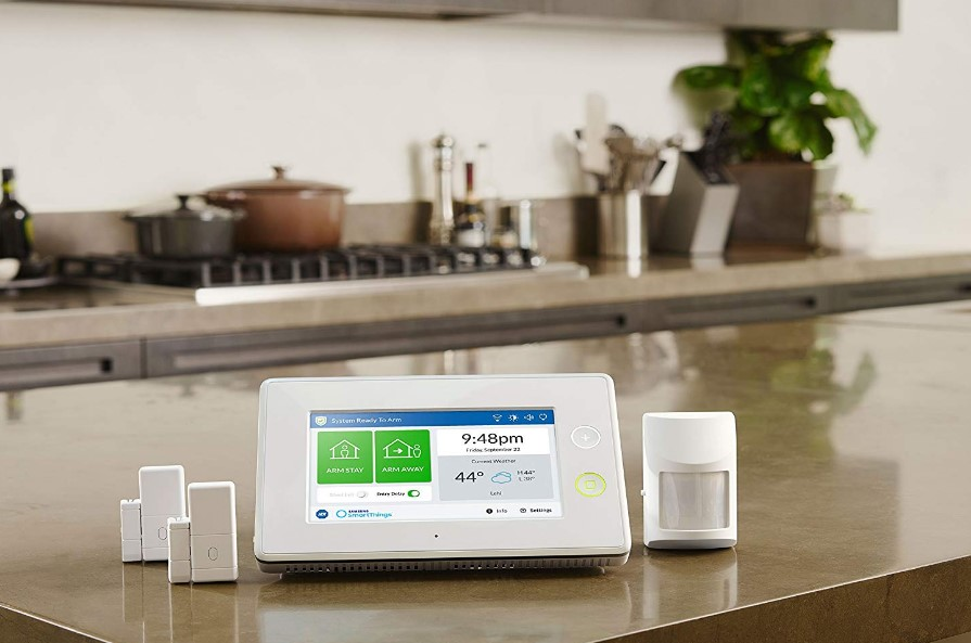 Smartthings ADT Wireless Home Security Starter Kit At Discount
