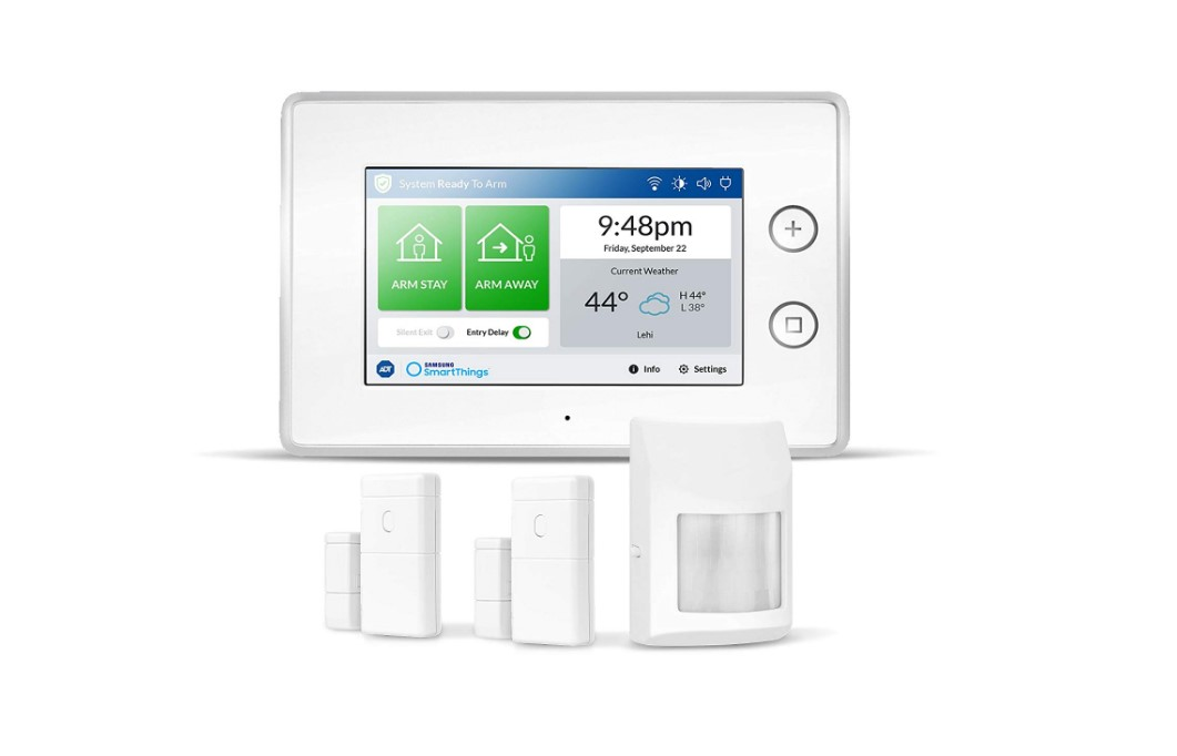 Smartthings ADT Wireless Home Security Starter Kit