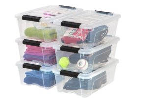 Stackable Clear Storage Box At Discount