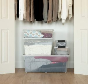 Stackable Clear Storage Box At Sale