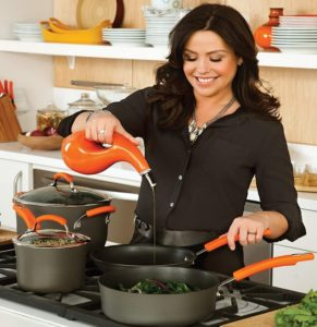 14 Inch Rachael Ray Hard Anodized Nonstick Skillet At Sale