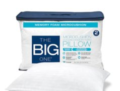 2-Pack Memory Foam Pillow