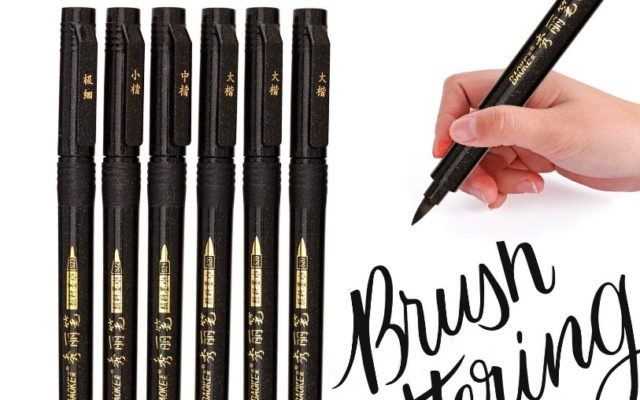 Hand Lettering Pens Refillable