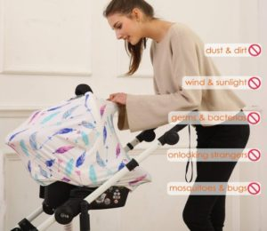 Hicoco Nursing Cover Car Seat Canopy At Discount