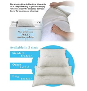 Hypoallergenic Bed Pillow for Side Sleeper At Discount