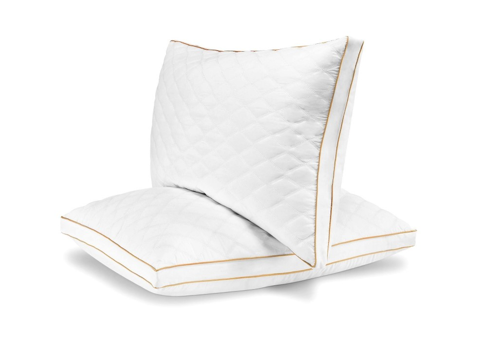 Italian Luxury Quilted Fiber Filled Pillow