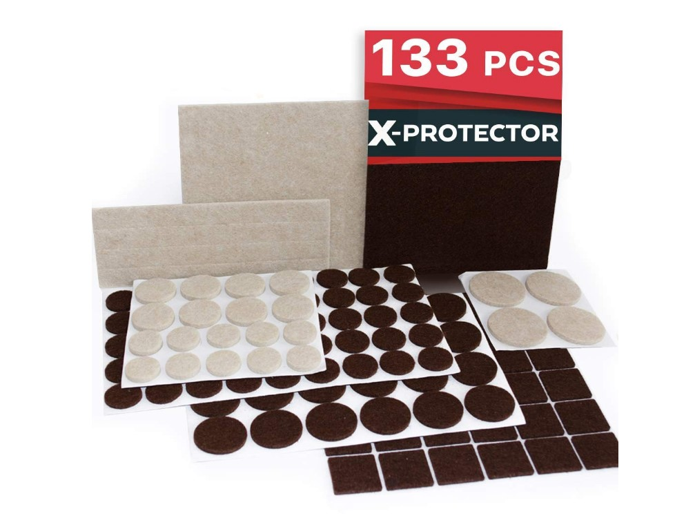 X PROTECTOR Premium Furniture Pads Pack