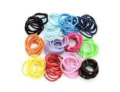 100 Pcs Set Kids Headwear Elastic Hair Ring