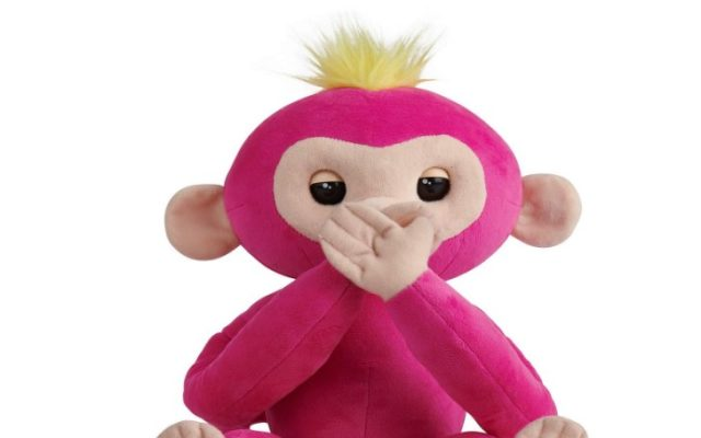 Advanced Interactive Plush Baby Monkey Pet