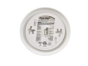 First Alert Smoke Detector Alarm with Backup Battery Sale