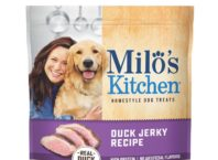 Milo Kitchen Duck Jerky Recipe Dog Treat