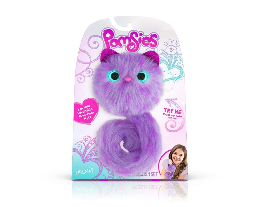 Pomsies 1884 Speckles Plush Interactive Toys