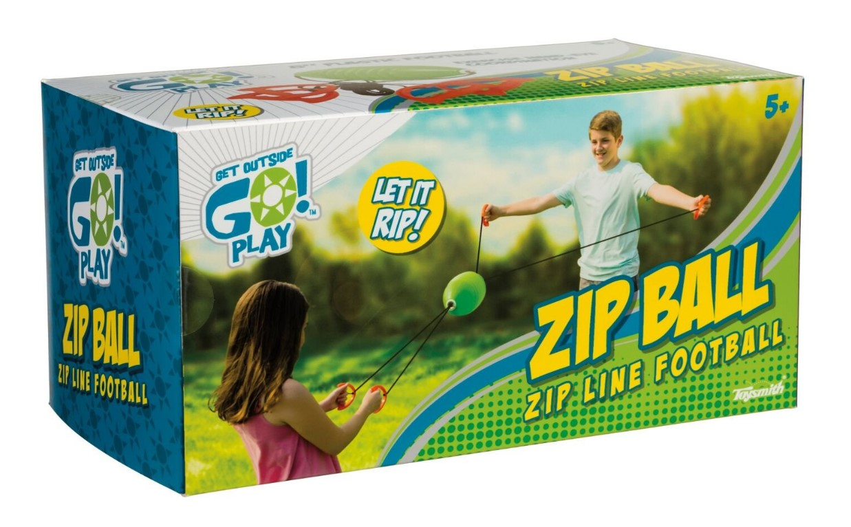 Toysmith Zip Ball
