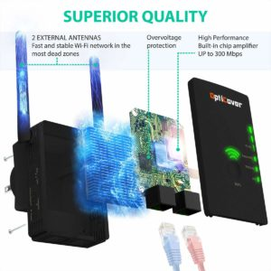 Upgraded 2019] WiFi Extender with WPS Internet Signal