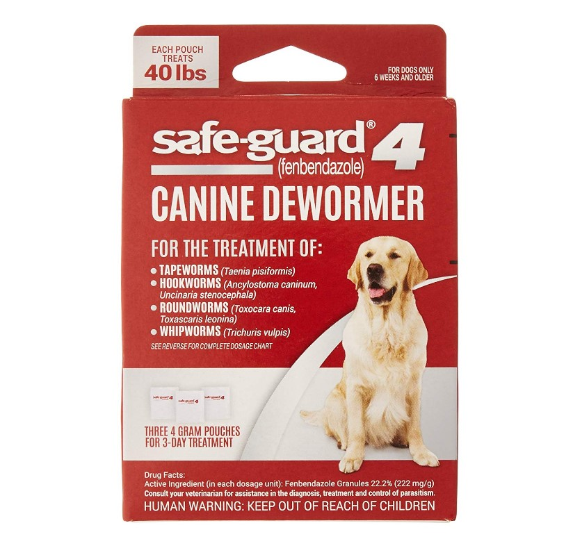 8in1 Safe Guard Canine Dewormer For Dogs