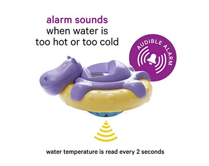 AQUATOPIA Floating Safety Bath Thermometer