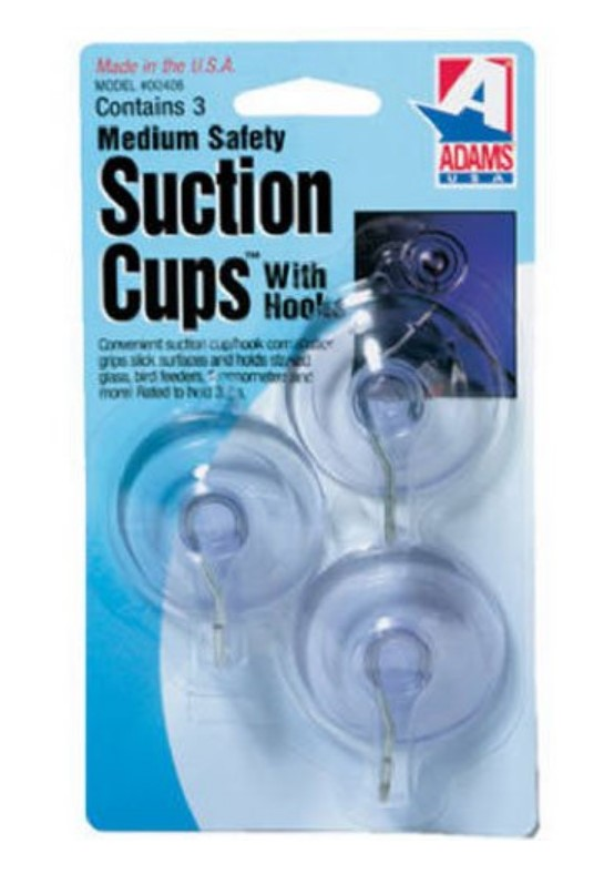 Adams Manufacturing Suction Cup Hook