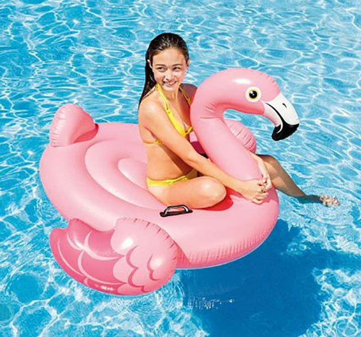 Intex Flamingo Inflatable Ride On