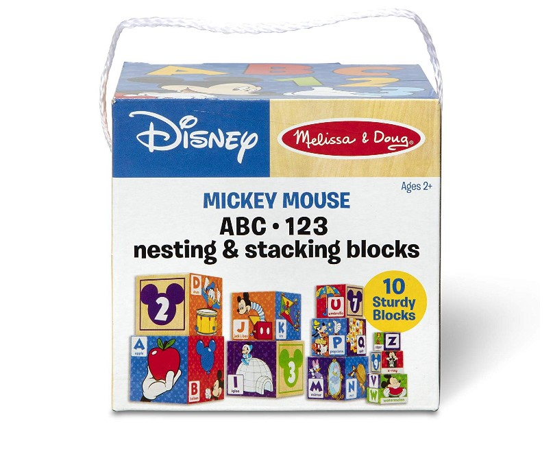 Mickey-Mouse Nesting & Stacking Blocks Toy At Sale