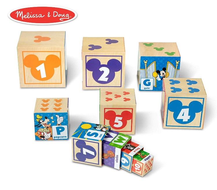 Mickey-Mouse Nesting & Stacking Blocks Toy