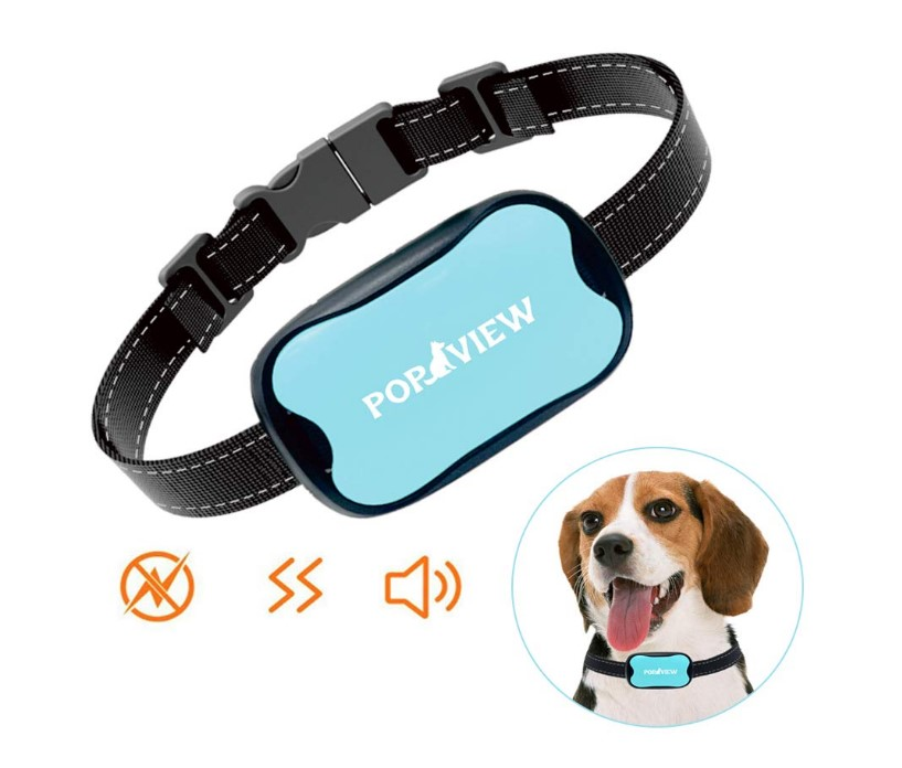 POP VIEW Dog Bark Collar For Dogs