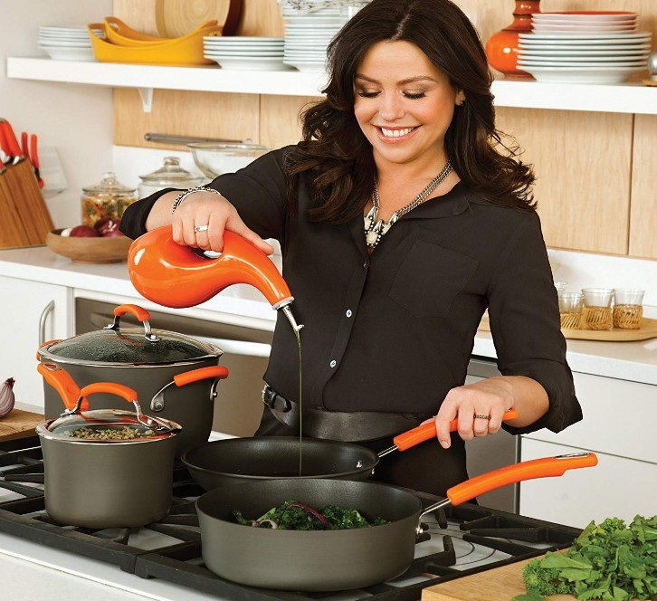 Rachael Ray Hard Anodized Nonstick Skillet At Sale