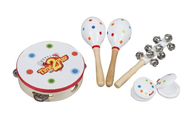 Time2Play Wooden Musical Instruments for Toddlers