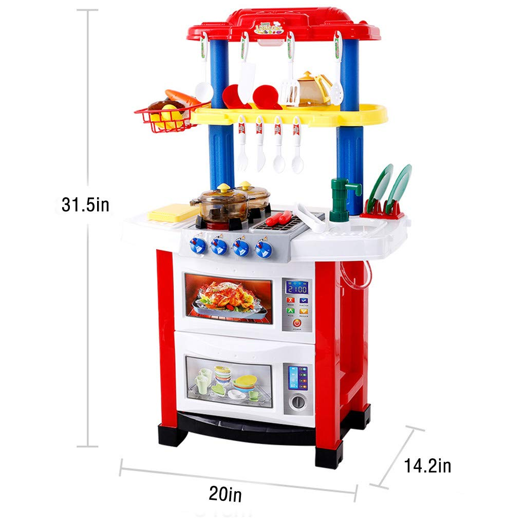 Redgiants Children\'s Kitchen Cook Grill Boys Playset $47.90 ...