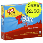 Clif Kid Zbar Multi-Packs only $1.75 at Whole Foods!