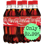 Coca Cola 6-Pack only $2.99 at Target!