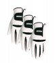 3Pack, NITRO CROSSFIRE PERFORMANCE GOLF GLOVE MENS WHITE/BLACK EXTRA LARGE -$8.80(48% Off)