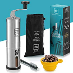 Conical Coffee Bean Grinder with Adjustable Ceramic Burr $12.99 (REG $25.99)