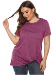 Women's Plus Size Knott T-Shirt less 50% using Code