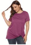 Women's Plus Size Knott T-Shirt less 50% using Code