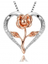 Klurent Heart Rose Pendant $32.99 (REG $66.99)
