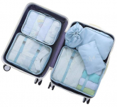 OEE 6 pcs Luggage Packing Organizers Packing Cubes Set for Travel $17.99 (REG $39.99)