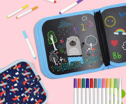 Erasable Drawing Board for Kids less 50% using Code.