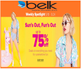 BELK Sun's Out, Fun's Out up to 75% OFF