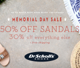 DR SCHOLL's SHOES MEMORIAL DAY SALE!