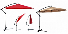 10′ Offset Hanging Patio Umbrella Just $49.99 Shipped!