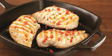 10.5″ Lodge Cast Iron Pre-Seasoned Square Grill Pan Just $12.99! Reg $33!!!