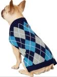 Frisco Dog & Cat Argyle Sweater $6.99 (REG $13.99)
