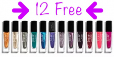 12 FREE Full-Size Nail Polishes with Julep Beauty Box Purchase!
