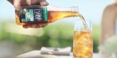 Pure Leaf Iced Tea 18oz Bottles 12-Pack $1.28/Bottle!