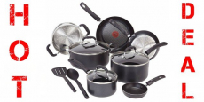 12-Piece T-Fal Professional Nonstick Cookware Set Just $74.98 Shipped!