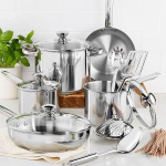 Stainless 13-Piece Cookware Set 62% off only $44.99!