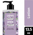 13.5 Oz Love Beauty & Planet Body Lotion Argan Oil and Lavender