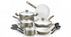 14-Piece T-fal Initiatives Cookware Set Only $55.99! Reg $200!