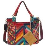 AmeriLeather Hazelle Leather Shoulder Bag $59.20 (REG $123.99)