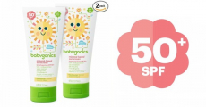 Amazon: Babyganics Mineral-Based Baby Sunscreen Lotion Just $5.12/Tube!